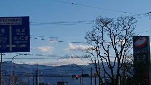 2020富士山
